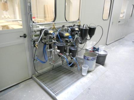5- Achs- Paletten Lackierroboter mit Trockenraum (6)