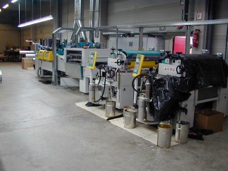 Furnierrollen-Beschichtungsanlagen (1)