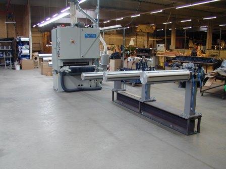 Furnierrollen-Beschichtungsanlagen (2)