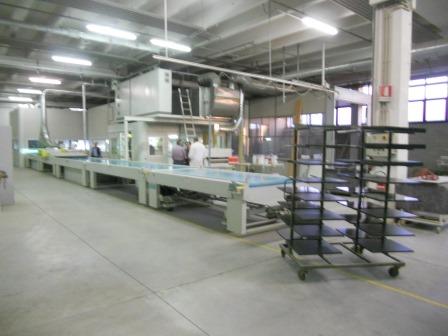 Lackierroboter mit Hochtrockner und UV Polymerisation (2)