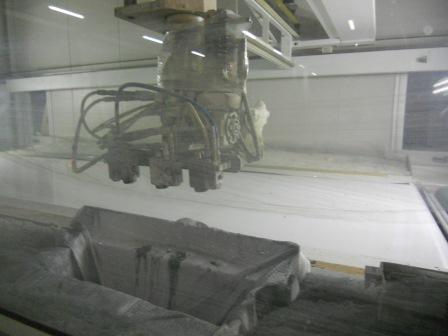 Lackierroboter mit Hochtrockner und UV Polymerisation (6)