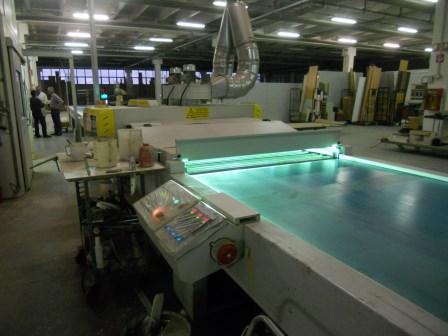 Lackierroboter mit Hochtrockner und UV Polymerisation (7)