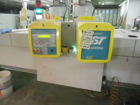 Lackierroboter mit Hochtrockner und UV Polymerisation (8)