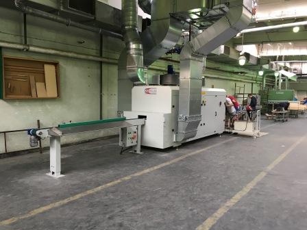 Vakuum- Lackieranlage für Rahmenteile (1)