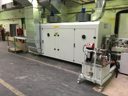 Vakuum- Lackieranlage für Rahmenteile (2)