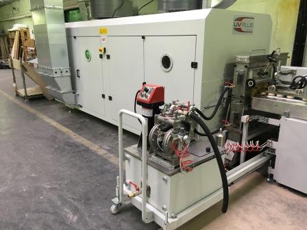 Vakuum- Lackieranlage für Rahmenteile (3)