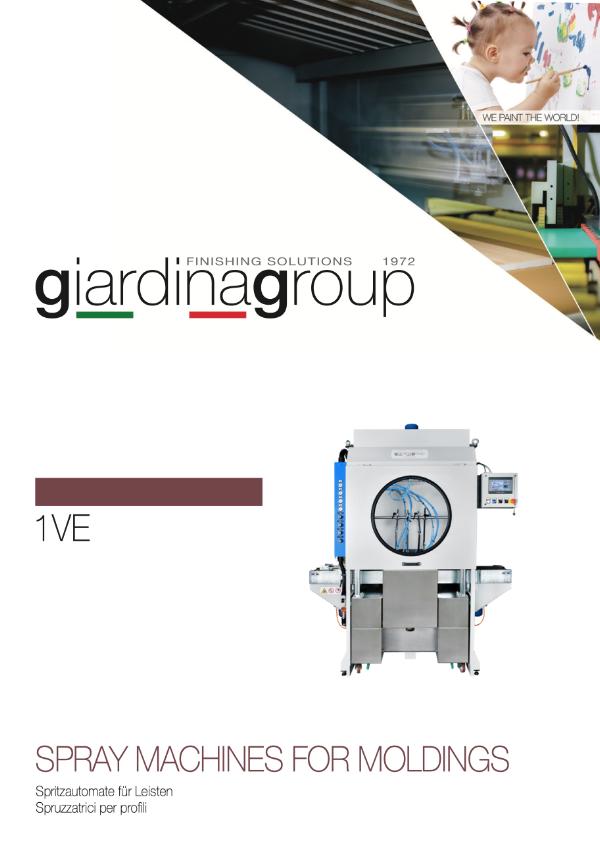 GIARDINA 1VE Spritzautomat für Leisten